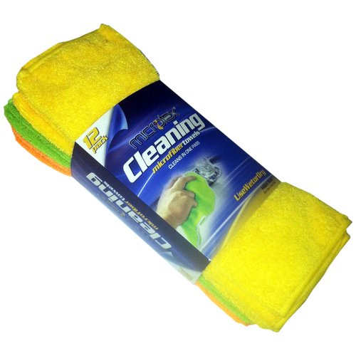 Microtex Microfiber Cleaning Towels, 12 count