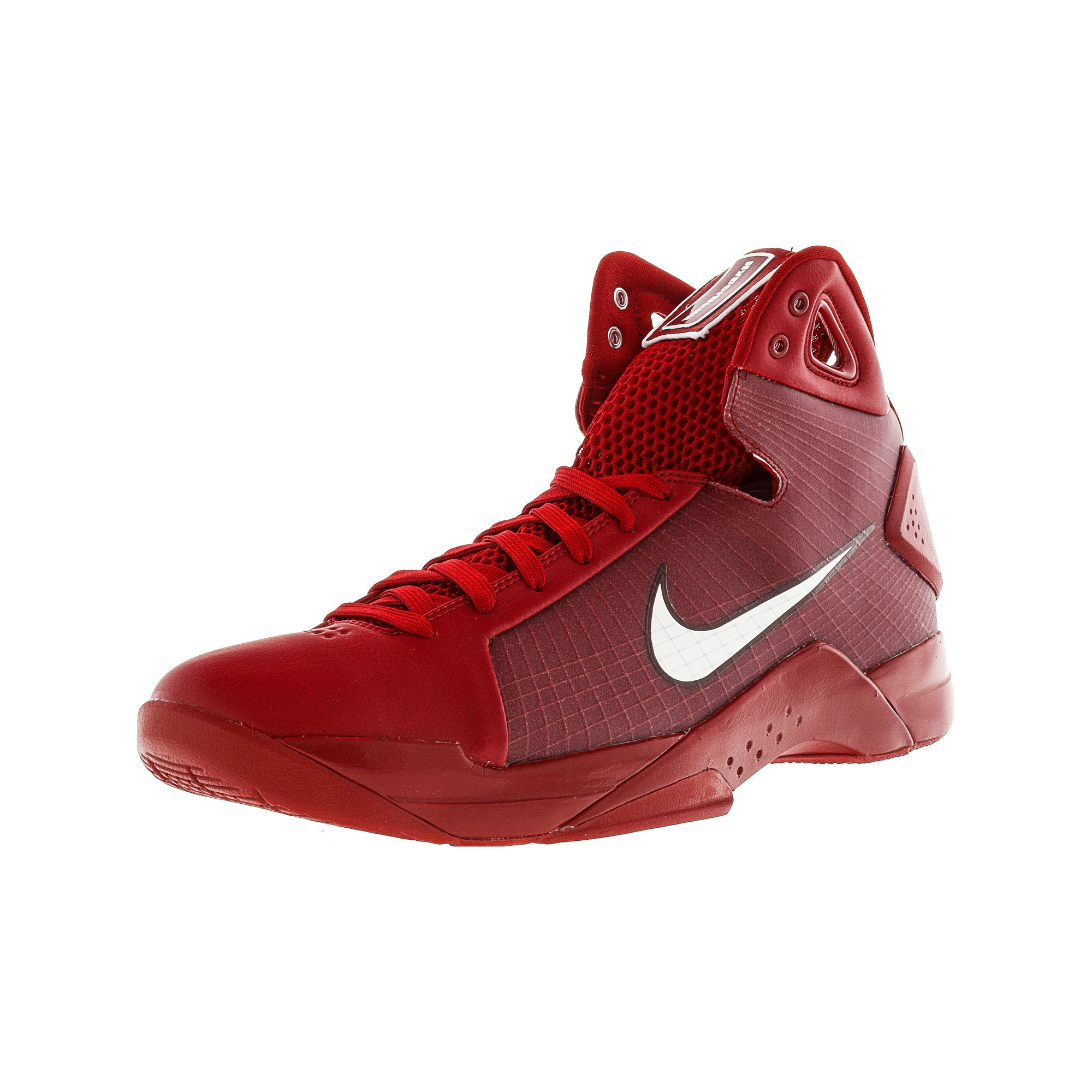 f85caaec34df Nike Men s Hyperdunk 08 Gym Red   White-Team Ankle-High Basketball Shoe -  12M