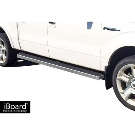 Ford Running Boards (iBoard Running Board For Ford F-150 SuperCrew Cab 4 Full Size)