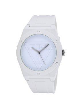 457bc2a72 Product Image Women's Iconic U0979L1 White Silicone Japanese Quartz Fashion  Watch
