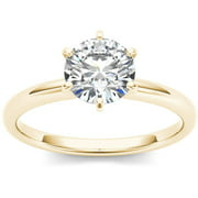 1 Carat T.W. Diamond Six-Prong Solitaire 14kt Yellow Gold Engagement Ring
