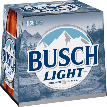 Busch Light® Beer, 12 Pack 12 fl  oz  Bottles - Walmart com