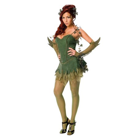 Secret Wishes Poison Ivy Costume, Green, Medium - Uma Thurman Poison Ivy