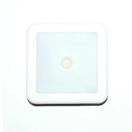 Intelligent LED Induction Lamp Square Sensor Induction Lamp Night Light Lamp for Bedroom Hallway - image 2 of 7