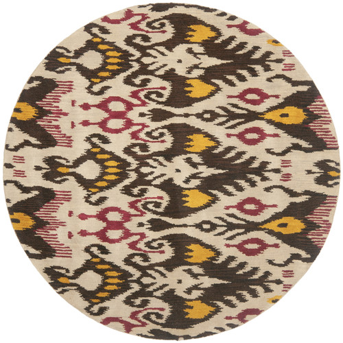 Safavieh Ikat Beige/Brown Area Rug