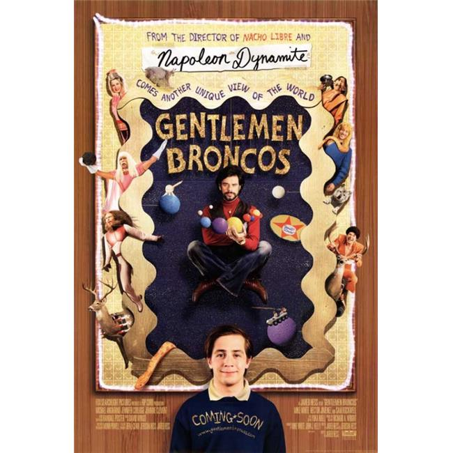 Posterazzi MOVGB39720 Gentleman Broncos Movie Poster - 27 x 40 in. - image 1 of 1