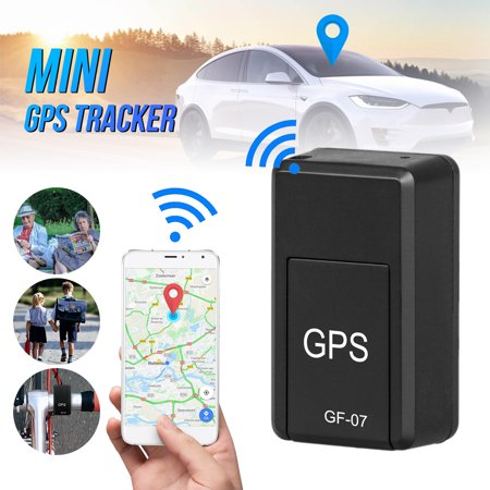 GPS Tracker,EEEkit Tracking Device Mini Portable Car GPS Tracking Free Installation Locator Tracking Device for Seniors, Kids, Cars, Vehicle, Bicycles, Spy Tracking, Travel ()