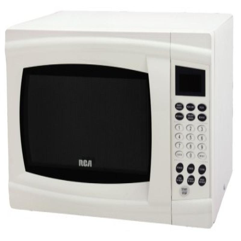 RCA RMW1112WH 1.1-Cu-Ft 1000-Watt Microwave, White