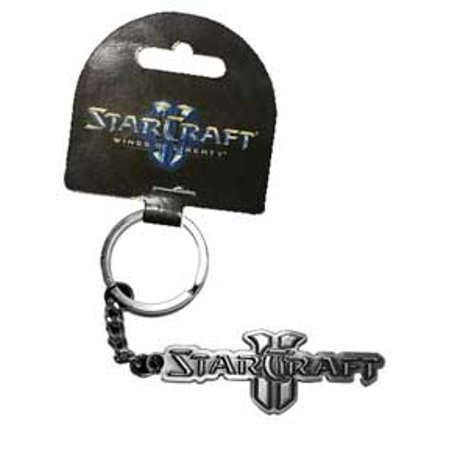 Key Chain - Starcraft II - Text Word Silver Metal New Toys Gifts Licensed j2042 - image 1 of 1