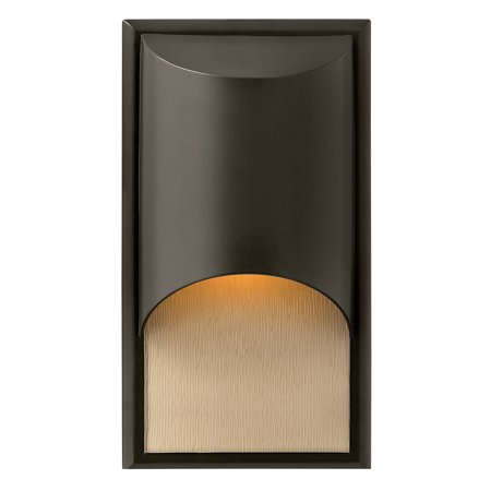 "Hinkley Lighting 1830 14.5"" Height 1-Light ADA Compliant Dark Sky Outdoor Wall Sconce from the Cascade Collection"