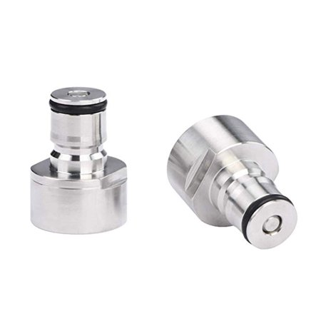 Electronicheart 2pcs/set Keg Coupler Ball Lock Post Kit 5/8 Inch Thread Air Liquid Post Kit Homebrew Beer Keg Accessories - image 2 of 5