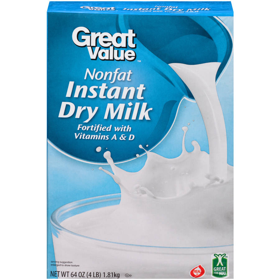 Great Value Instant Dry Milk, 64 oz