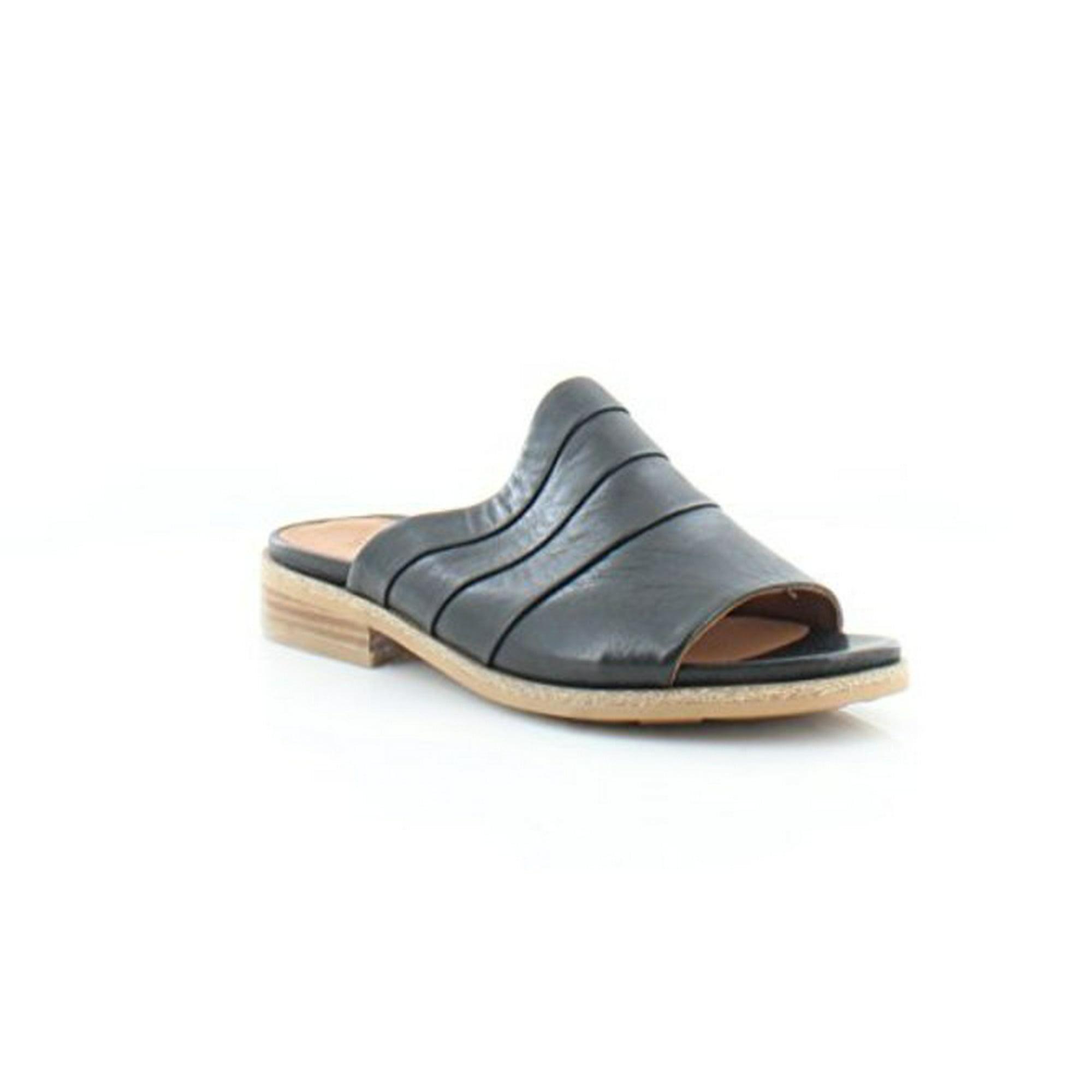 0c6b1dcda Gentle Souls Womens Gayle Leather Slide Sandal Shoes
