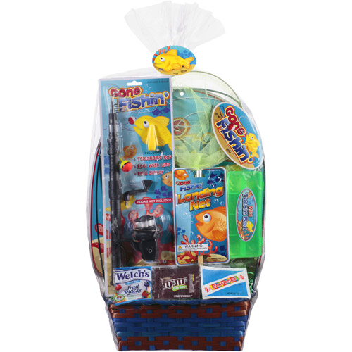 Walmart Fishing Adventures Fishing Set Easter Basket