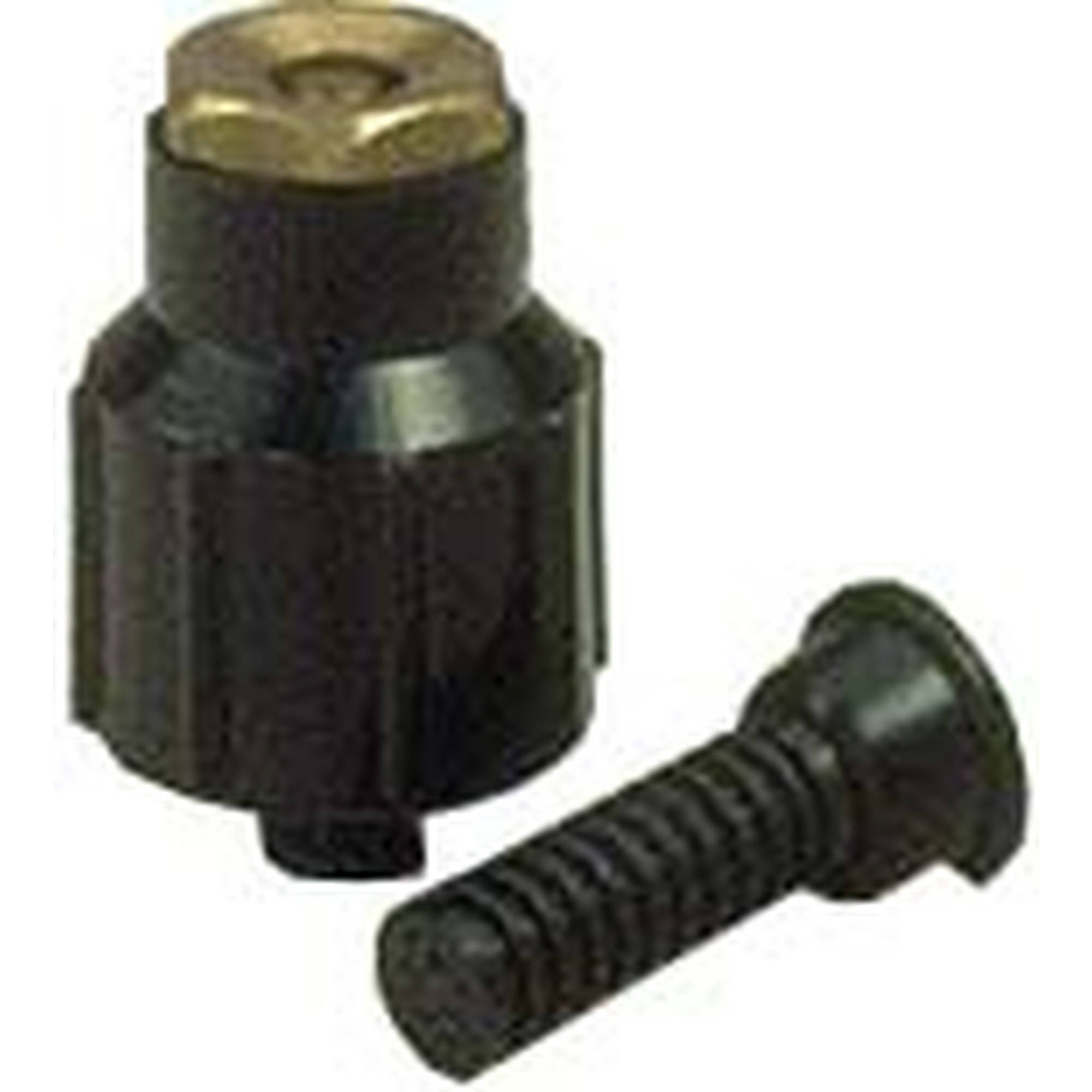 Orbit 54039D Half Circle Plastic Shrub with Brass Nozzle