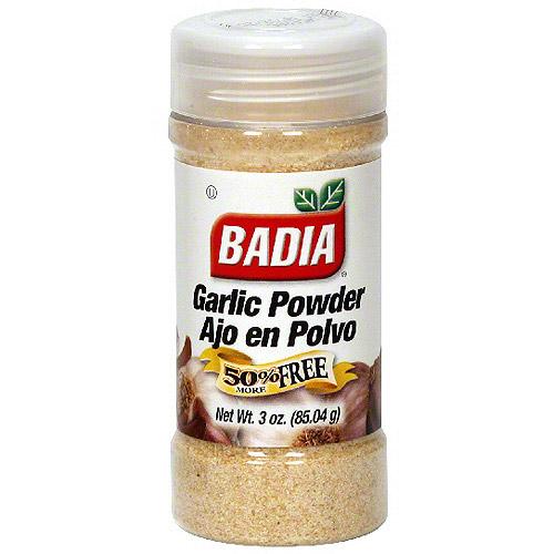 Badia Garlic Powder, 3 oz (Pack of 12)