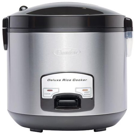 Premium - 10 Cup Deluxe Rice Cooker Non-Stick Removable Pot Keep Warm And Cook (Best Pot To Cook Rice)