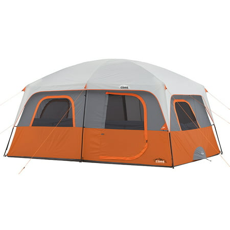 Core Equipment 14' x 10' Straight Wall Cabin Tent, Sleeps