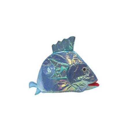 Iridescent white fish party hat for Whiting fish at walmart