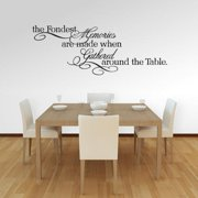 Sweetums The Fondest Memories 30 x 11-inch Kitchen Wall Decal