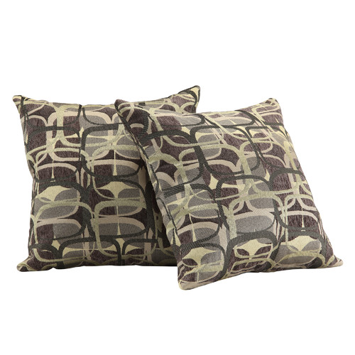 Kingstown Home Novella Mod Geometric Print Throw Pillow