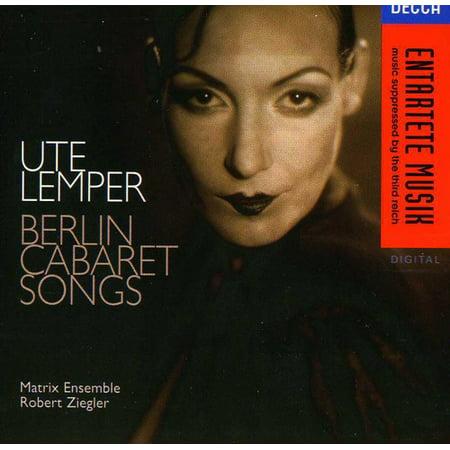 Berlin Cabaret Songs  German Version
