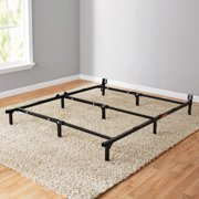 mainstays 7 adjustable metal bed frame easy no tools assembly twin - Metal Bed Frames