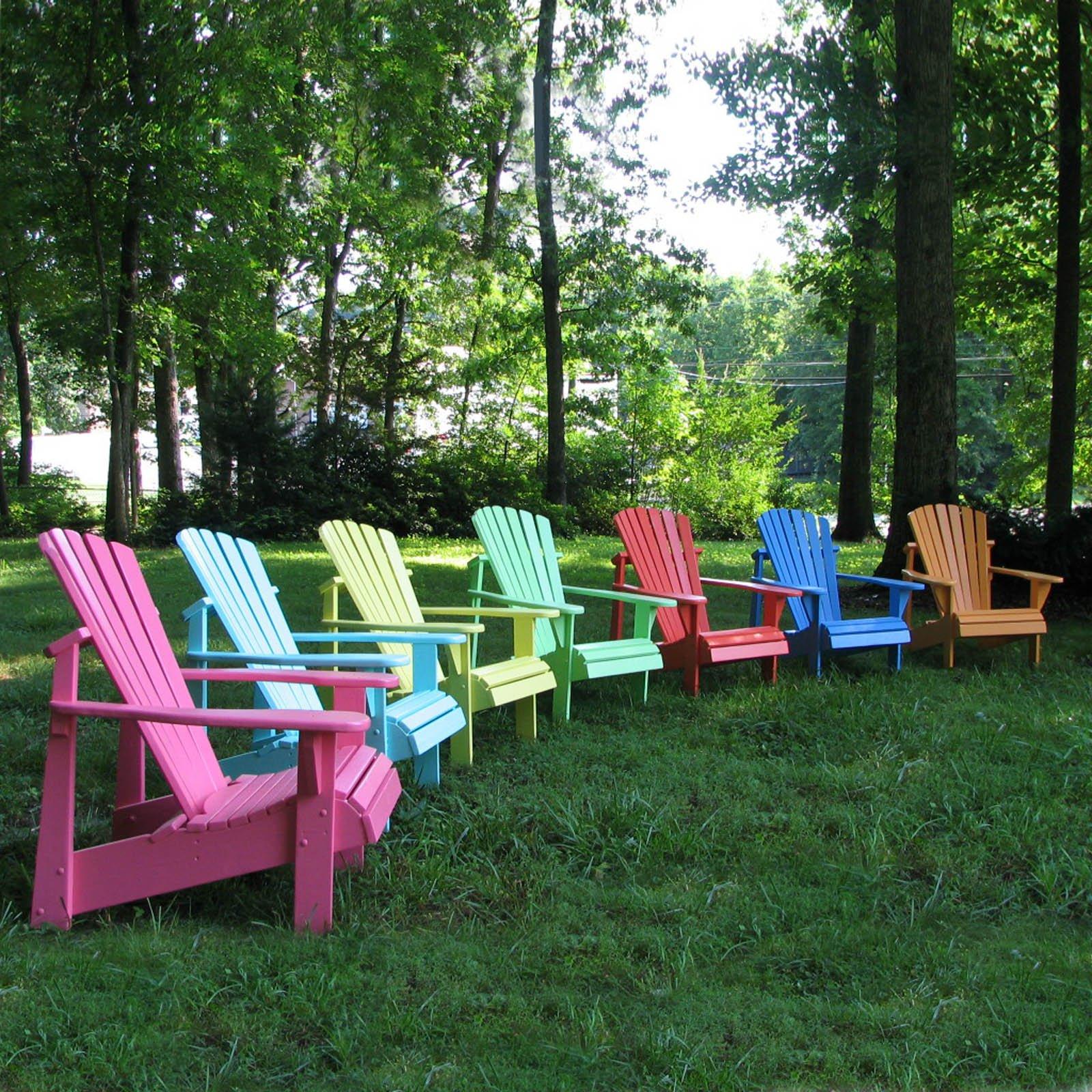 Delicieux Weathercraft Designers Choice Painted Adirondack Chair