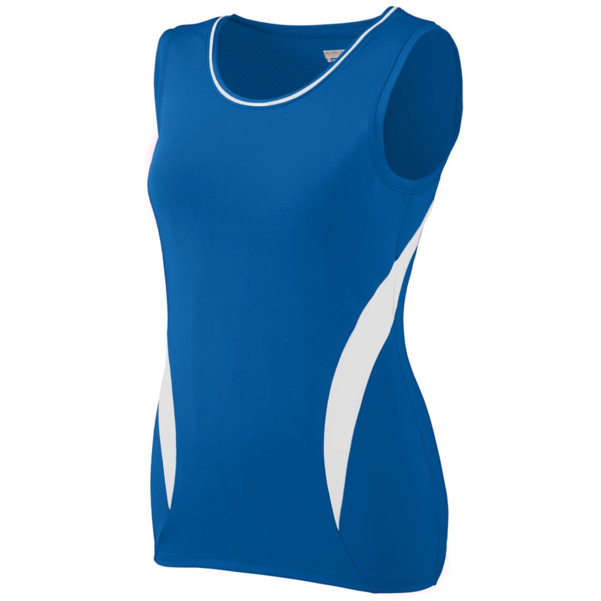 Augusta Sportswear Women's Motivator Jersey M Royal/White