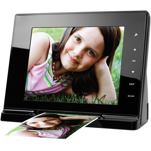 "Mustek PF-A6L Digital Photo Scanner with 8"" LCD Display"