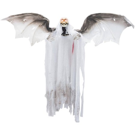 Animated Flying Winged Reaper Halloween Decoration