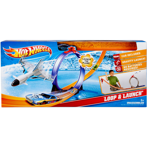 Hot Wheels Loop and Launch Play Set