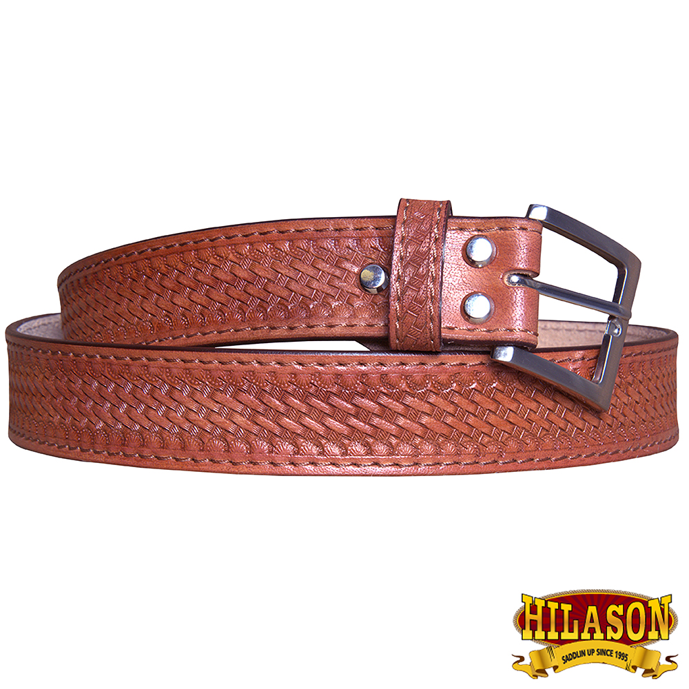 "30"" HILASON HANDMADE HEAVY DUTY CONCEALED CARRY LEATHER STITCH GUN HOLSTER BELT"