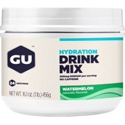 GU Hydration Drink Mix: Watermelon, 24 Serving Canister