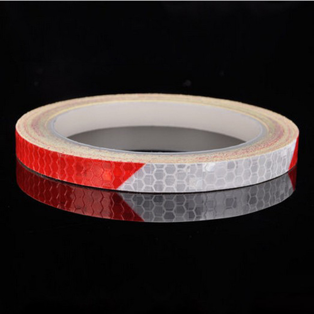 Hight Quality Reflective Stickers Motorcycle Bicycle Reflector Security Wheel Rim Decal Tape