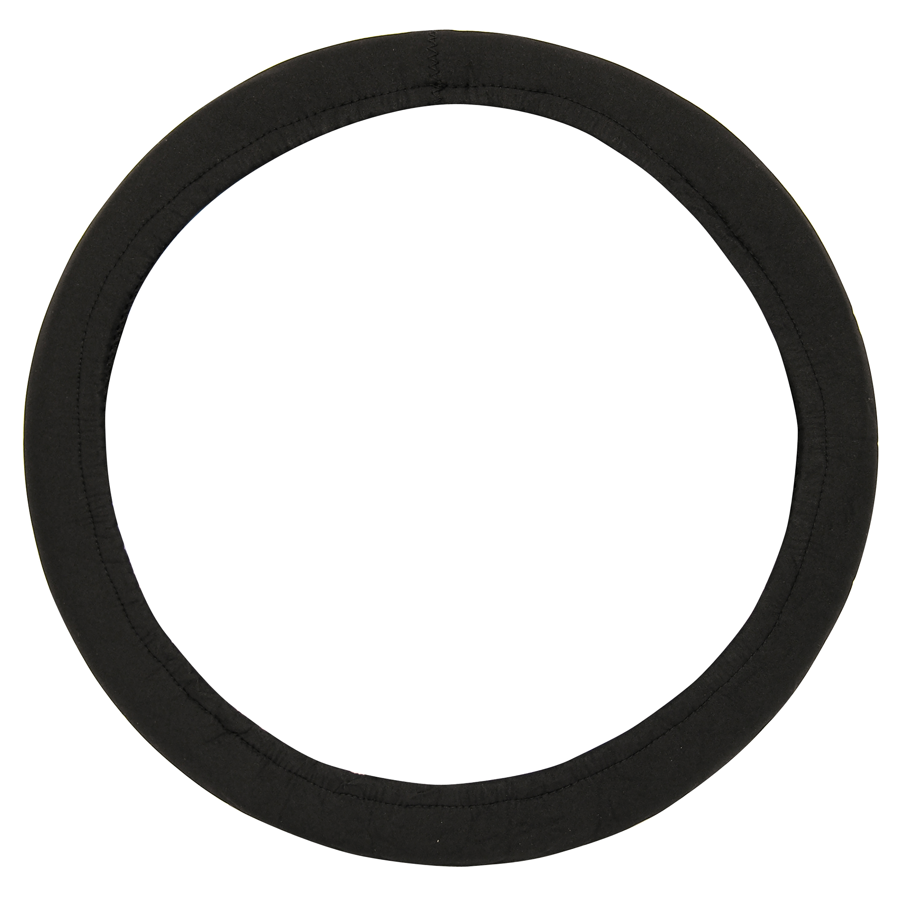 Auto Drive Neoprene Steering Wheel Cover, Black