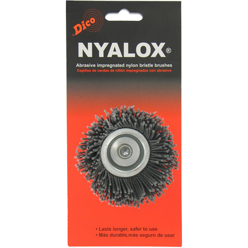 "DiCo. 7200010 2-1 2"" Coarse Nyalox Cup Wire Brush by Dico"