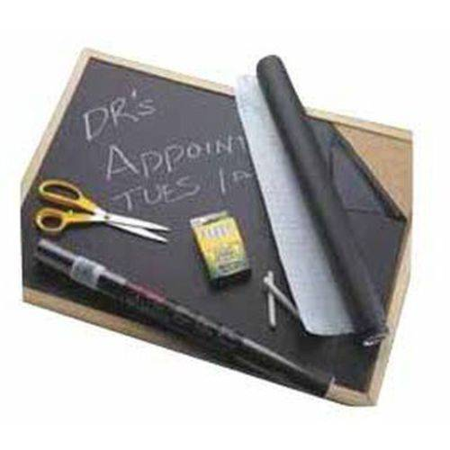 "Con-Tact Self-Adhesive Chalkboard Contact Paper, 18"" x 6', Black"
