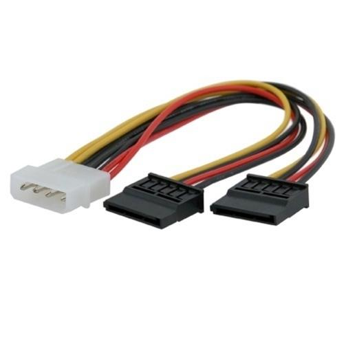 Insten 5 Pack 4-Pin Molex Power Connector To 2 15-Pin SATA Serial ATA Splitter Cable