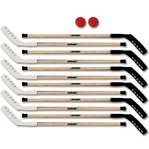 Shield 10740XXX #740 Pro Wood Outdoor Hockey School Set