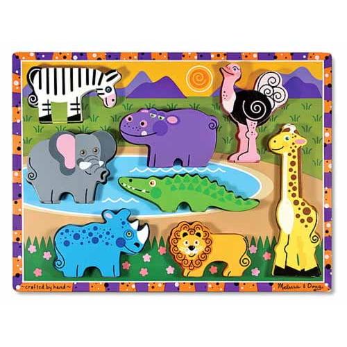 Chunky Puzzle Safari by Melissa & Doug