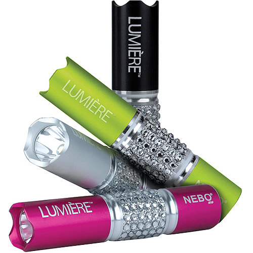 NEBO Tools - 5614 Lumiere 50 Lumen Jeweled Flashlight - Assorted Colors
