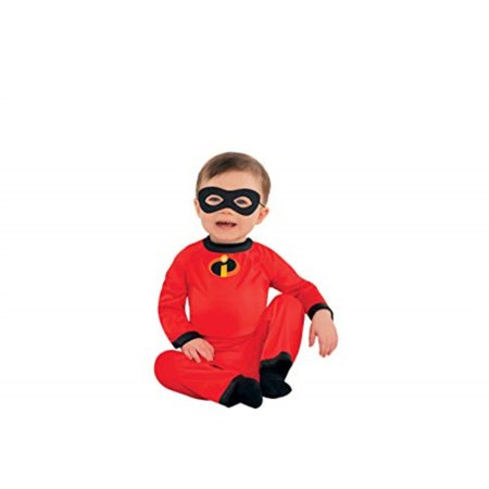 Halloween City Coupons (Party City The Incredibles Baby Jack-Jack Halloween Costume for Infants, 0-6 Months, with Included)