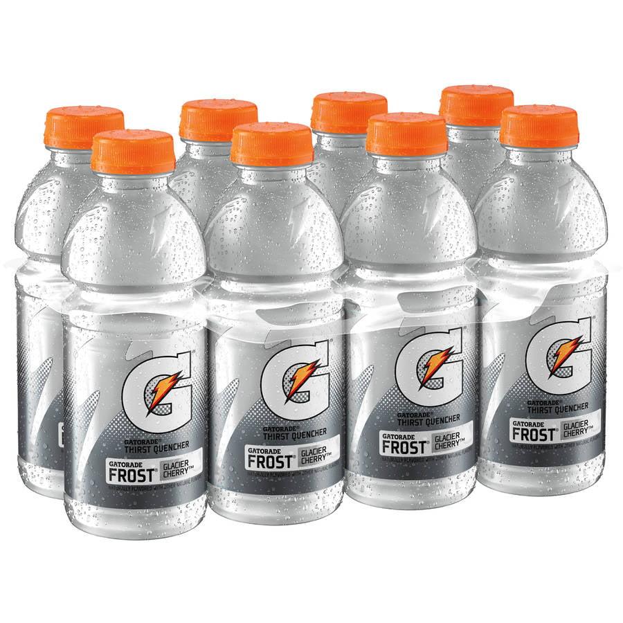 Gatorade Frost Glacier Cherry Thirst Quencher Sports Drink, 20 fl oz, 8 count