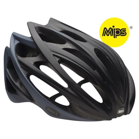 Bell Gage MIPS Road Helmet Small Matte Black Ombre Unisex Cycling Bike (Best Mips Road Bike Helmet)