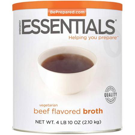 Emergency Essentials Vegetarian Beef Flavored Broth, 74 oz