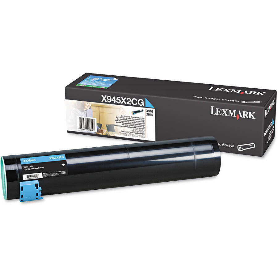 Lexmark X945X2CG High-Yield Cyan Toner Cartridge