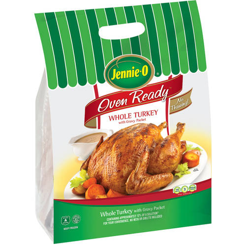Frozen Jennie-O Oven Ready Whole Turkey, Frozen 11.0-13.0 lbs