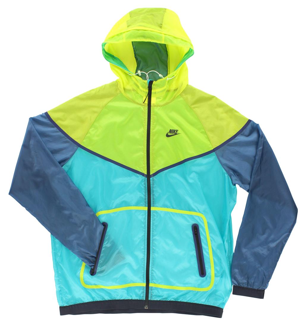 Nike Mens Hyperfuse Windrunner Running Jacket Teal