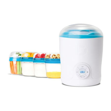 Dash Greek Yogurt Maker  White And Bluetrim